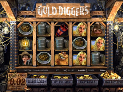Slot Machine Gold Diggers