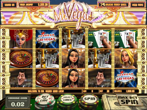 Slot Machine Mr Vegas
